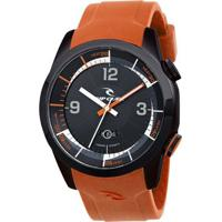 Relógio De Pulso Ripcurl Launch Heat Timer - Aço - Masculino-Prata+Laranja