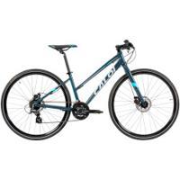 Bicicleta Caloi City Tour Sport - Aro 700 - Freio A Disco Mecânico - 21 Marchas - Feminina - Cinza Escuro