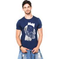 Camiseta Rgx Runned Over Azul