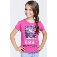 Blusa Infantil Estampa Coração Marisa