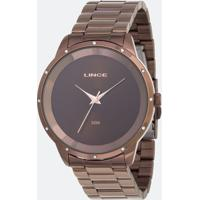 Kit Relógio Feminino Lince Lrb619L-Ki18N1Nx Analógico 5Atm + Conjunto Semijóia