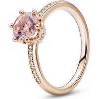 Anel Solitário Coroa Signature Pandora Rose™