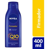 Loção Nivea Firmador Q10 Vitamina C 400Ml Para Pele Seca Extrasseca