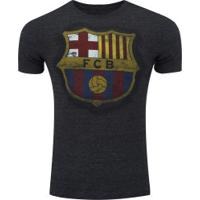 Camiseta Barcelona Dieguito - Masculina - Azul Escuro