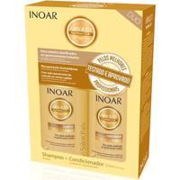 Kit Inoar Daymoist Shampoo 250 Ml + Condicionador 250 Ml - Unissex-Incolor