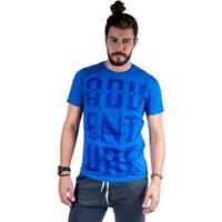 Camiseta Mister Fish Estampado Adventure Masculina - Masculino-Azul Royal