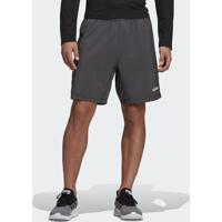Shorts Fitness E Funcional Adidas Design 2 Move Climacool Cinza