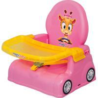 Cadeira De Alimentação Girafa Rosa - Magic Toys