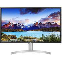 Monitor Lg Led 32´ Widescreen Uhd 4K, Hdr, Hdmi/Display Port/Usb-C, Freesync, Som Integrado, Ajuste De Altura - 32Ul750-W