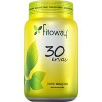 30 Ervas Fitoway- 120 Cã¡Psulas- Fitowayfitoway