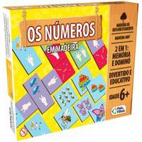 Jogo Da Memória E Dominó - Os Números - Pais & Filhos Pais2903