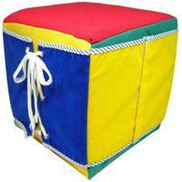 Cubo De Atividades Ciabrink Madeira Multicolorido