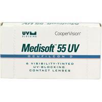 Lente De Contato Medisoft 55 Uv Incolor -4,50 Incolor