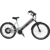 Bicicleta Elétrica Duos 800W 48V 15Ah Sport Prata