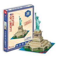 Quebra-Cabeça 3D Estátua Da Liberdade - Brinquedos Chocolate