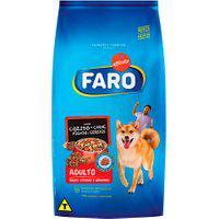 Ração Para Cães Faro Adultos Sabor Cozido De Carne, Fígado E Cereais 1Kg