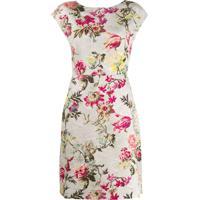 Etro Vestido Com Estampa Floral - Neutro