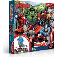 Quebra-Cabeça Grandão -120 Peças - Avengers - Marvel - Toyster - Disney - Masculino-Incolor