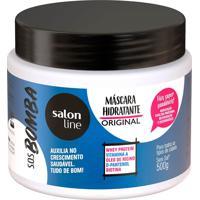 Máscara Hidratante Capilar Salon Line S.O.S Bomba Original 500G