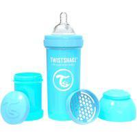 Mamadeira Twistshake Anti-Cólica Azul 260Ml