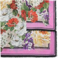 Dolce & Gabbana Lenço Estampado - Rosa