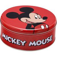 Lata Mickey Mouseâ®- Vermelha & Preta- 8Xã˜20Cm- Mmabruk