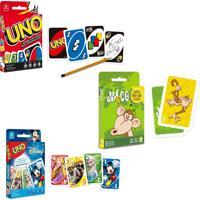 Kit Jogos De Cartas Uno Tradicional + Uno Disney + Mico - Copag