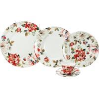 Aparelho De Jantar Porcelana 30 Peças Oriana - Unissex