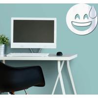 Espelho Decorativo Emoji Aliviado