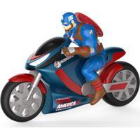 Moto De Fricção - Disney - Marvel - Avengers - Capitão América - Toyng