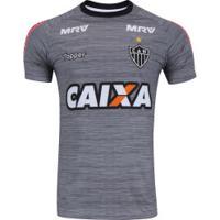 Camisa De Treino Do Atlético-Mg Comissão Técnica 2017 Topper - Masculina -  Cinza Escuro 5126b0f896f6e