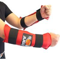 Protetor Para Antebraço/Caneleira Jugui Vermelho