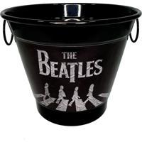 Balde De Gelo Alumínio Temático Banda The Beatles 27X27X20Cm