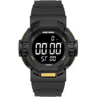 Relógio Mormaii Mo6710Ab8Y Masculino - Masculino-Preto