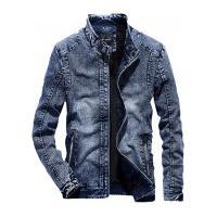Jaqueta Jeans Masculina Salford - Azul