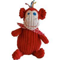 Pelúcia Simply Macaco Deglingos Vermelho