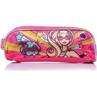 Estojo Infantil Sestini Simples Super Princesa 16Y Pink Barbie
