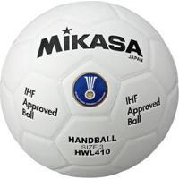Bola De Handebol Hwl410 Padrão Ihf Mikasa - Unissex-Branco