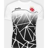 Netshoes  Camisa Vasco Concentração 2018 Diadora Masculina - Masculino 96870be62532b