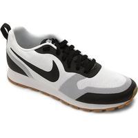 Tênis Nike Md Runner 2 Masculino - Masculino-Branco+Preto