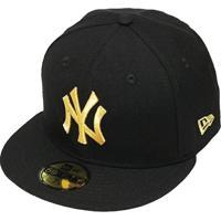 e753c4317c3ef Netshoes; Boné New Era Aba Reta Fechado Mlb Ny Yankees Basic - Unissex