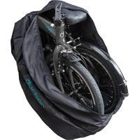 """Bolsa Para Transportar Bicicleta Durban Dobrável De Aro 20"""" Ou 16"""" Preto - Kanui"""