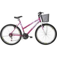 Bicicleta Athor Aro 26 Mtb 18/M Model Feminino C/ Cesta - Feminino