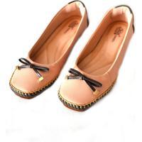 Sapato Prata Couro Conforto 1009805 Nude
