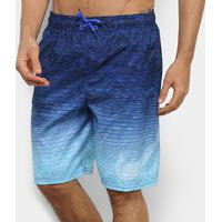 "Short Nike Swim Volley 9"" Degradê Masculino - Masculino"