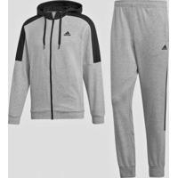 Agasalho Masculino Adidas Mts Cotton Energize