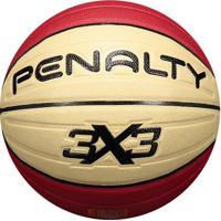 Bola De Basquete Penalty 3X3 Pro Ix Vermelha