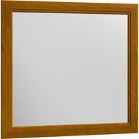 Moldura Com Espelho Esmeralda 90 X 90 1416K Teca