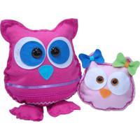Bonecos Kits For Kids Corujas Coruja Mãe E Corujita Multicolorido