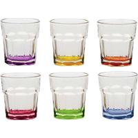 Jogo Com 6 Mini Copos Para Licor Drinks - Bon Gourmet - Colorido